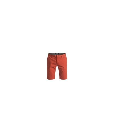 QUIKSILVER CHINO SHORT RED