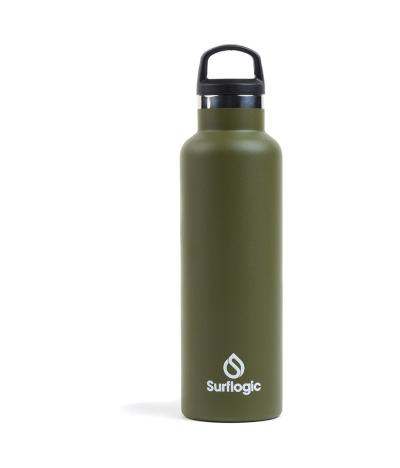 SURFLOGIC BOTTLE STANDARD MOUNTH OLIVE GREEN 600ML