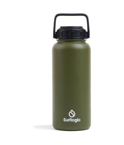 SURFLOGIC BOTTLE WIDE MOUTH 950ML. OLIVE GREEN