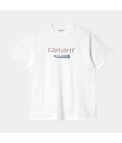 CARHARTT CAMISETA TOOTHPASTE WHITE