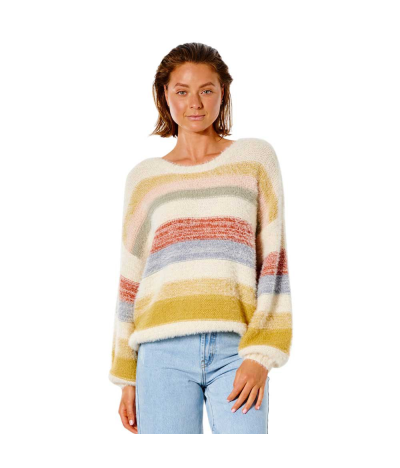 RIP CURL W SUNSET WAVES SWEATER MULTICOLOR