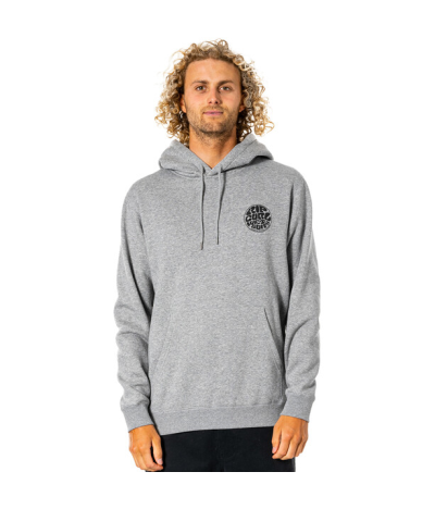 RIP CURL WETSUIT ICON HOOD GREY MARLE