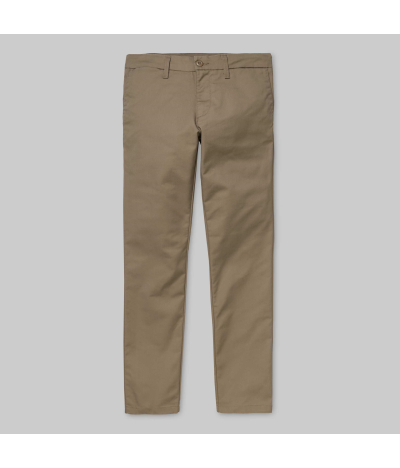 CARHARTT SID PANT LEATHER RINSED