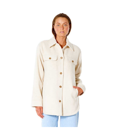 RIP CURL W DRIFTER JACKET OFF WHITE
