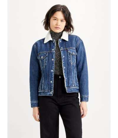 LEVIS W SHERPA TRUCKER ROUGH AND TUMBLE