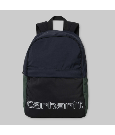 CARHARTT TERRACE BACKPACK BLACK DARK NAVY BOTTLE GREEN