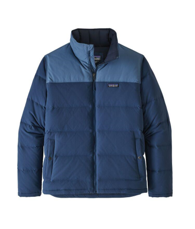 PATAGONIA BIVY DOWN JACKET STONE BLUE WOOLLY BLUE