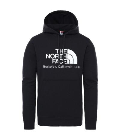 THE NORTH FACE BERKELEY CALIFORNIA HOODIE BLACK