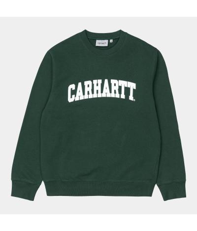 CARHARTT SUDADERA UNIVERSITY TREEHOUSE WHITE