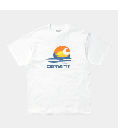 CARHARTT CAMISETA LAGOON C WHITE