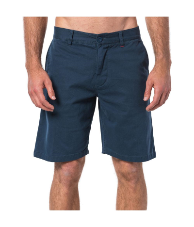 RIP CURL BERMUDAS TRAVELLERS WASHED NAVY