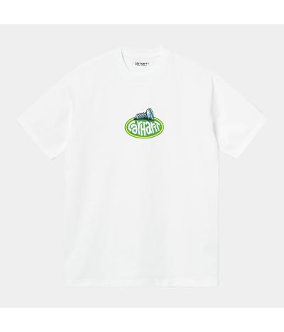 CARHARTT SCREW T-SHIRT WHITE