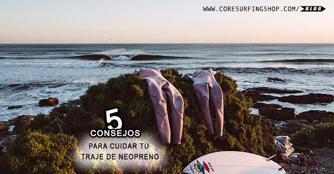 NEOPRENO CUIDAR WETSUIT COMPRAR BARATO CORE SURFING GALICIA SANTIAGO COMPOSTELA GALIFORNIA