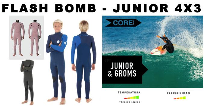 27b65302051 junior niño comprar barato nuevo 2019 neopreno rip curl wetsuits barato  galicia santiago surf wetsuit flash