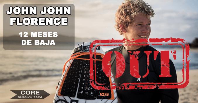 john john florence lesionado campeon del mundo out fuera de baja comprar dakine barato compostela surf galicia tablas neoprenos