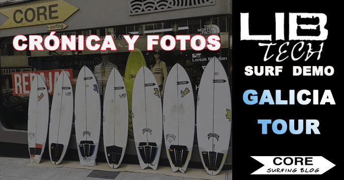 lib tech comprar tabla de surf dura surf trip round nose fish redux santiago galicia viaje online buy DEMO TOUR