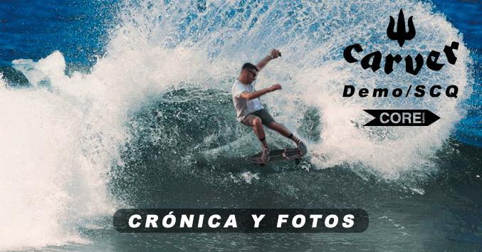 demo carver surf skate surfskate comprar galicia santiago buy online surfshop barato triton