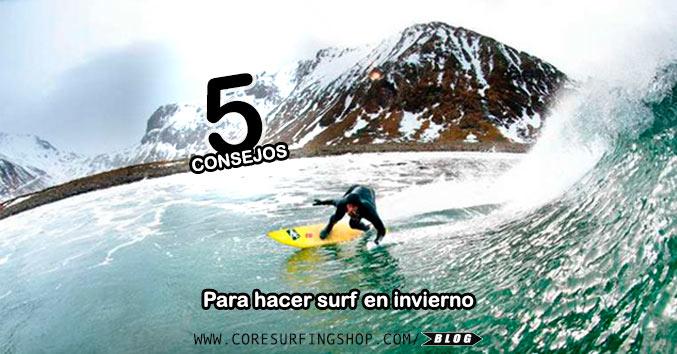 5 consejos para hacer surf en invierno trajes de neopreno guantes cold surf surf shop galicia winter compostela