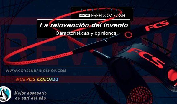 fcs invento freedom leash comprar review cómo es que tiene especial correa de tela nylon core surfing shop surf galicia surfshop online buy best
