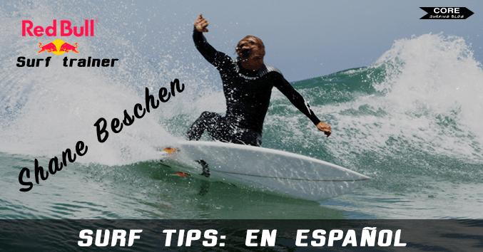 surf tutorial aprender mejorar como hacer surf maniobras curtbach aereo off the lip tubo shane beschen español lessons tips trucos