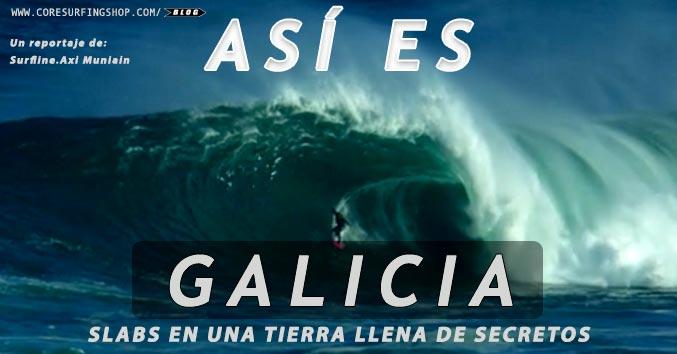 Surf galicia olas grandes axi muniain tremosa big eave nazare coast powerfull waves core surfing surf shop compostela scq