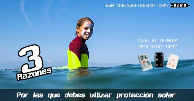 efecto del sol en la piel por quemaduras sin protección sol específica en la cara surf
