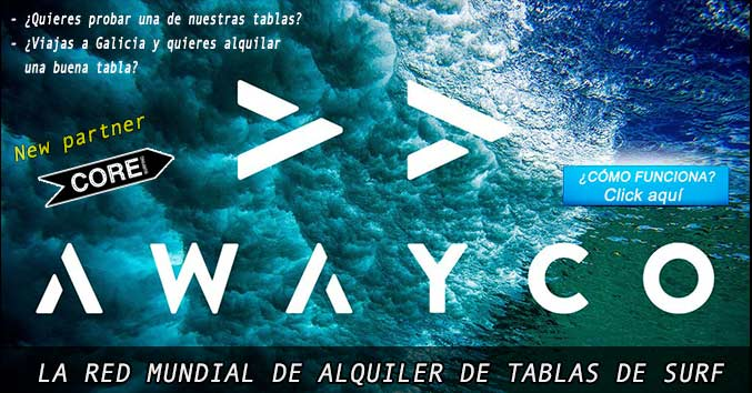 alquilar tabla de surf galicia rent surfboard compostela firewire performance awayco