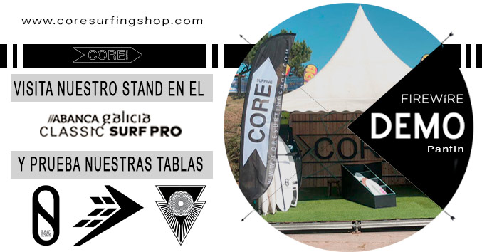 firewire demo tour europa españa galicia pantin surf campeonato del mundo test slater designs machado tomo