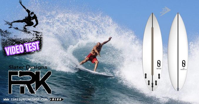 firewire Slater designs frk review video test analisis opiniones mejor tabla de surf