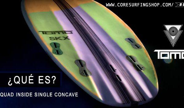 TOMO QUE ES EL QUISC CONCAVAOS DE TABLAS DE SURF QUAD INSIDE SINGLE CONCAVE