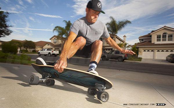 tutorial como aprender surfskate y mejorar en el surf con la tabla de surf y el skate