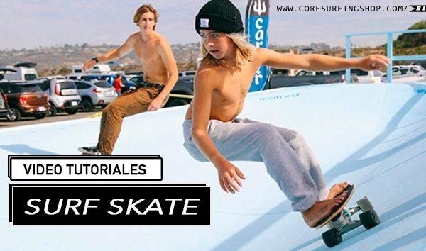 como apreder surf skate video tutoriales de surf skate surfskate maniobras