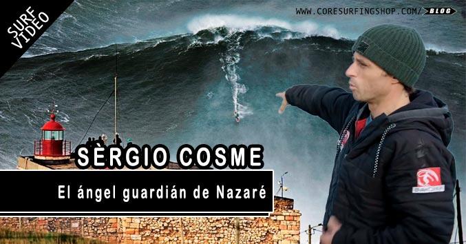 SURF EN NAZARE OLAS GRANDES GIGANTES RESCATE