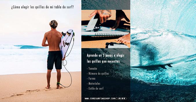 qué quillas de surf comprar y como elegir las mejores quillas