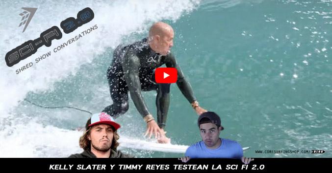 nueva tabla de surf de kelly slater sci fi 2.0 video
