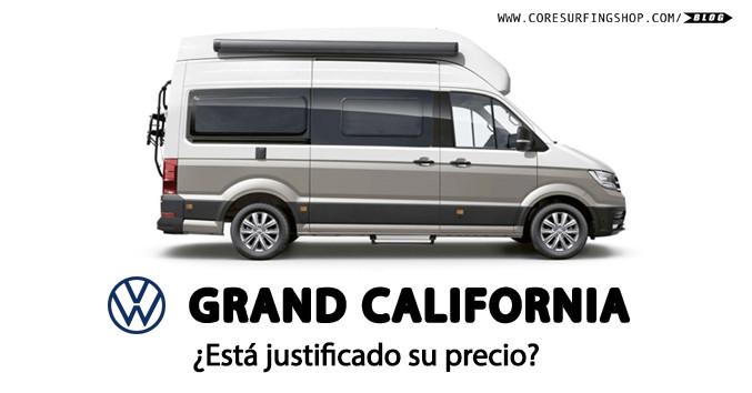 Furgoneta camper volkswagen gran california review precio y caracteristicas alquilar galicia