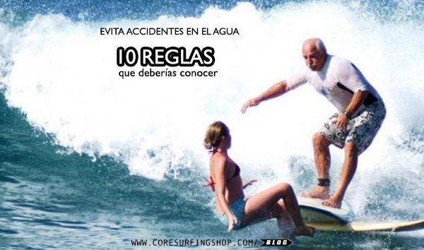 reglas del surf core surfing shop saltada