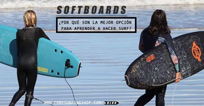 el softboard es la mejor tabla para aprender a hacer surf rapido y facil