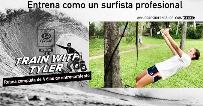 Rutina para entrenar surf en casa de Tyler wright campeona mundial de surf fitness ejercicios entrenamiento