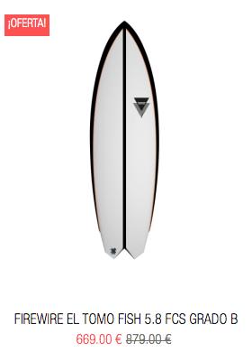 Firewire surfboards outlet tablas de surf baratas al mejor precio slater designs tomo rob machado glazer