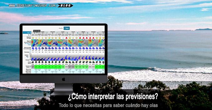 como saber cuando hay buenas olas interpretar mapas previosnes de mar españa tutorial