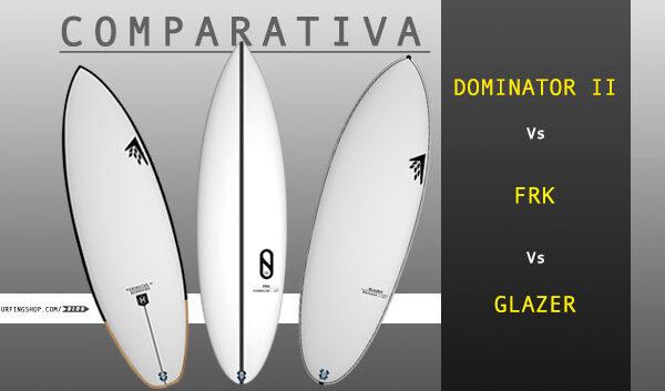 comparativa de tablas de surf firewire surfboards dominator 2 glazer machado y frk kelly slater