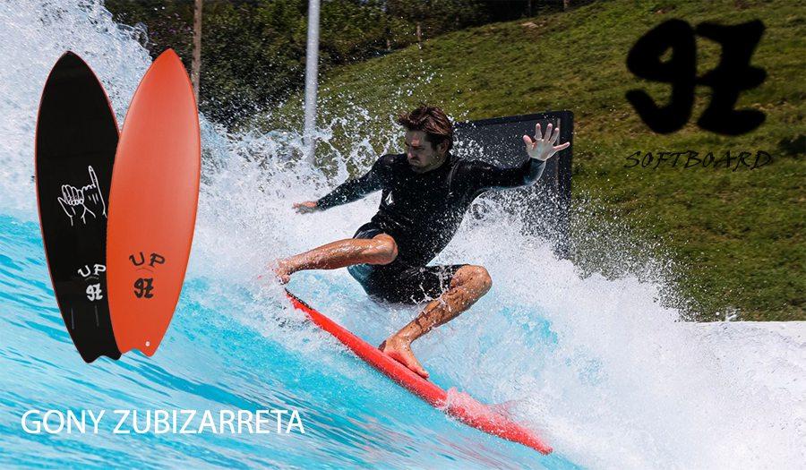 gony zubizarreta softboard tabla de surf de epoxycortxopan tabla soft de espum