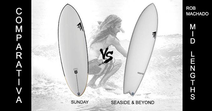 Rob machado mid lengths firewire sunday seaside and beyond comparativa review analisis opiniones