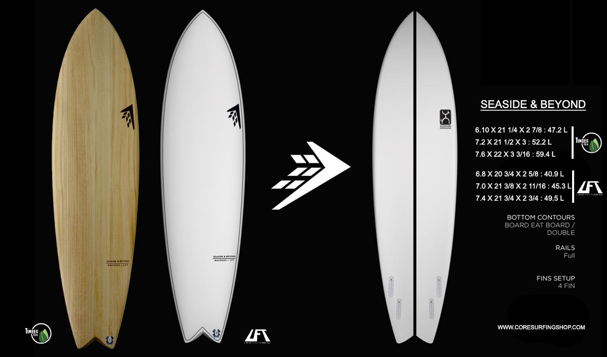 Mid length de rob machado Seaside & Beyond tablas de surf de 7 pies