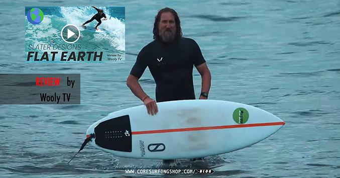 Flat earth slater desings firewire surfboards