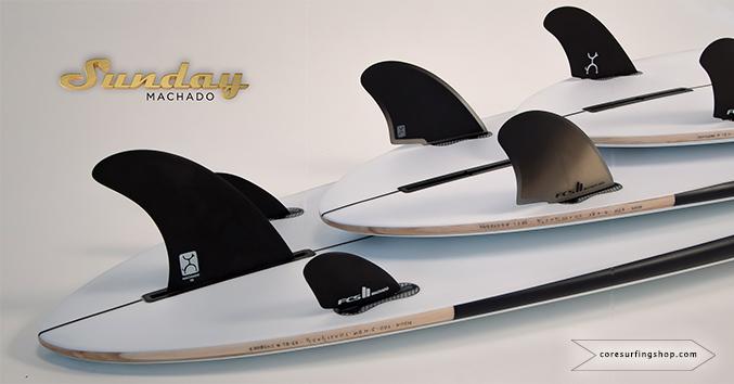 Mid length de rob machado Sunday quillas tablas de surf de 7 pies