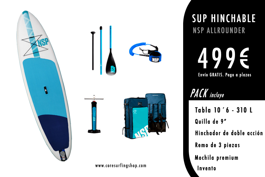 comprar paddle surf hinchable barato